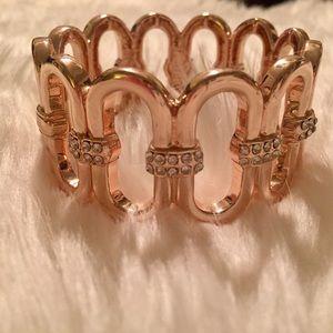 NWT INC gold bracelet